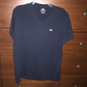 Lacoste Pima Cotton Embroidered T Shirt
